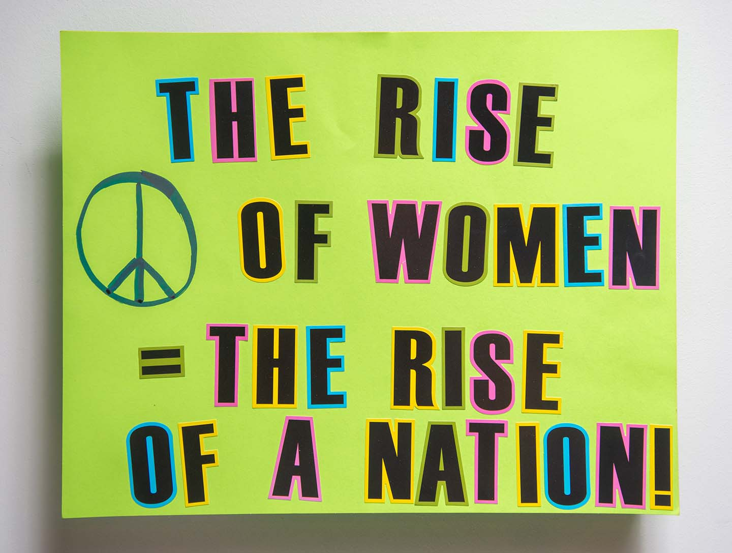 The Rise of Women = The Rise of a Nation