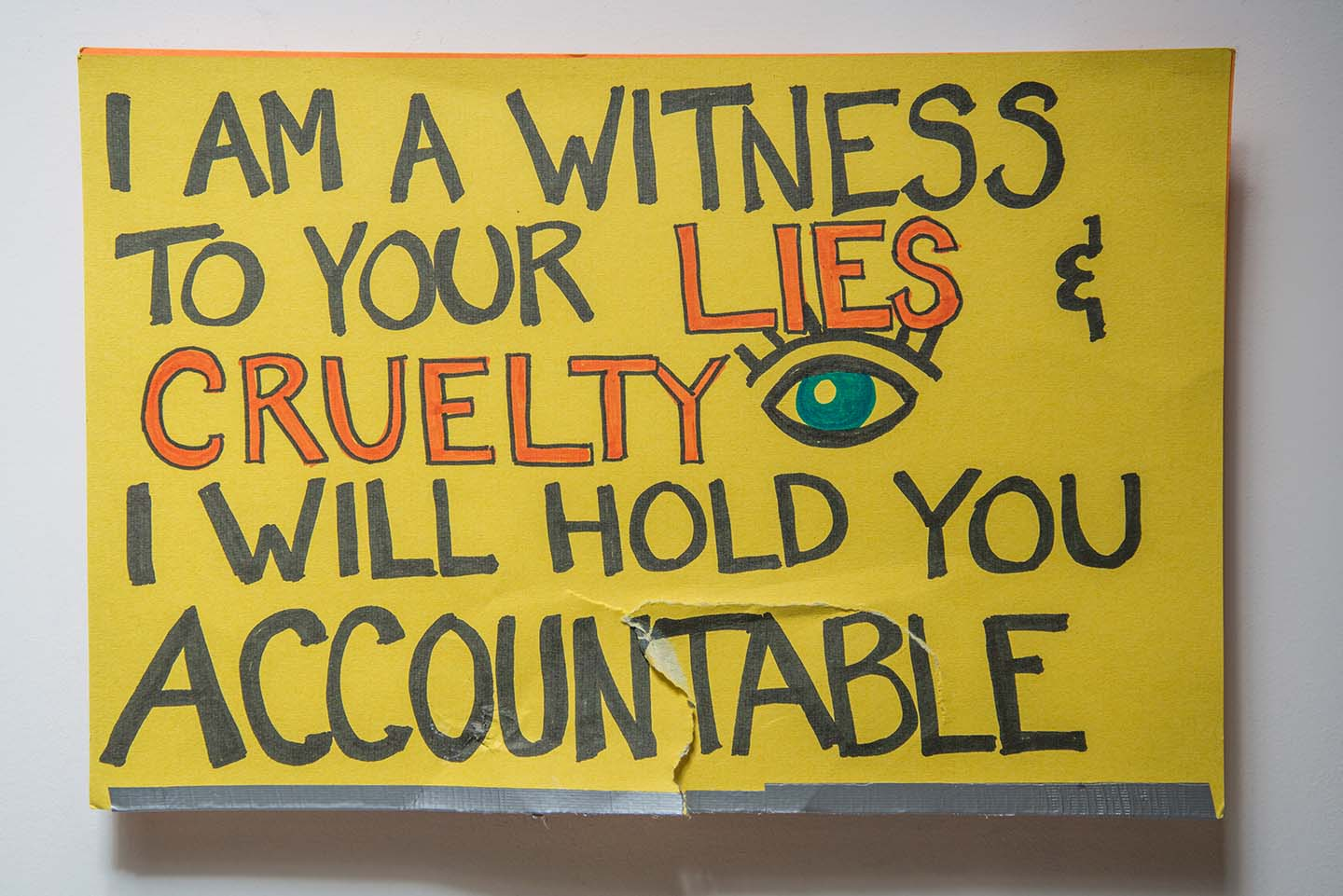 I Am a Witness to Your Lies & Cruelty I Will Hold You Accountable/ #yugemistake