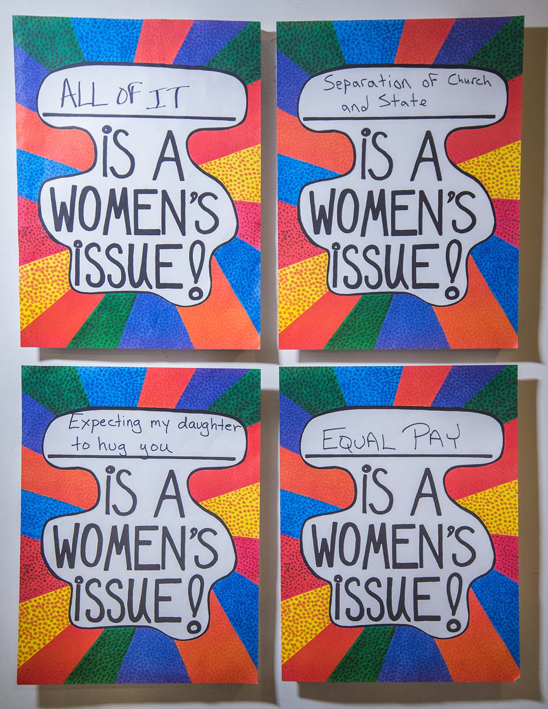 All of It Is a Women's Issue!