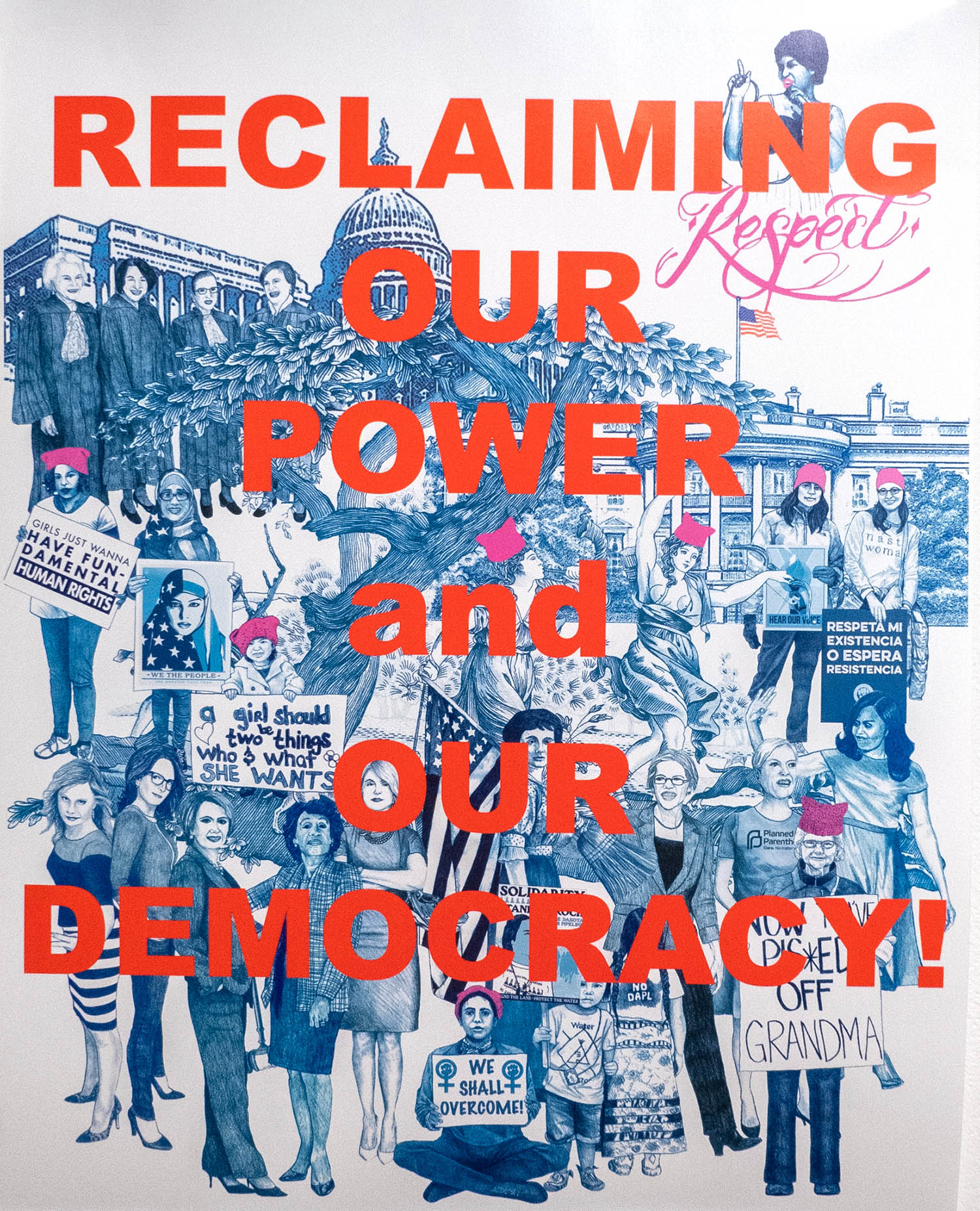 Reclaiming our power and our democracy