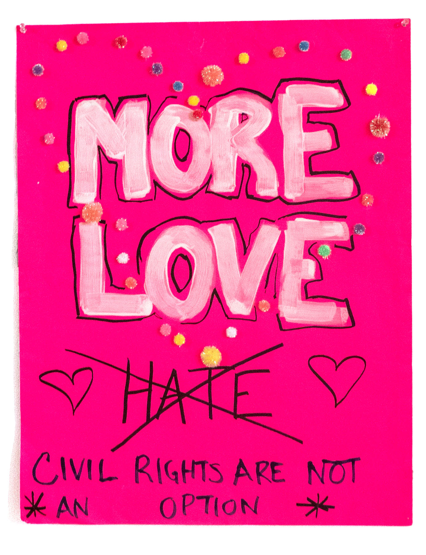 MORE LOVE X HATE