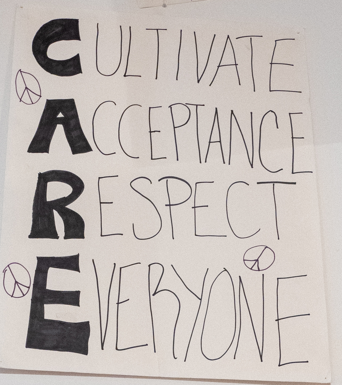 Cultivate Acceptance Respect Everyone