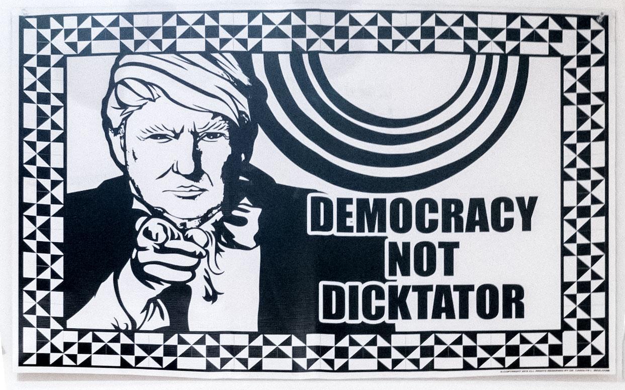 Democracy Not Dicktator