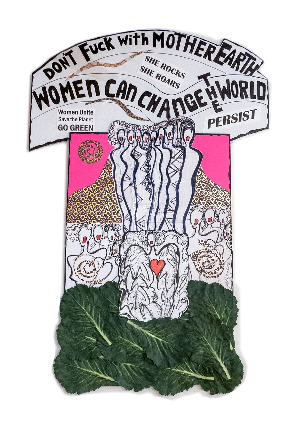 Don't Fuck with Mother Earth Women Can Change the World