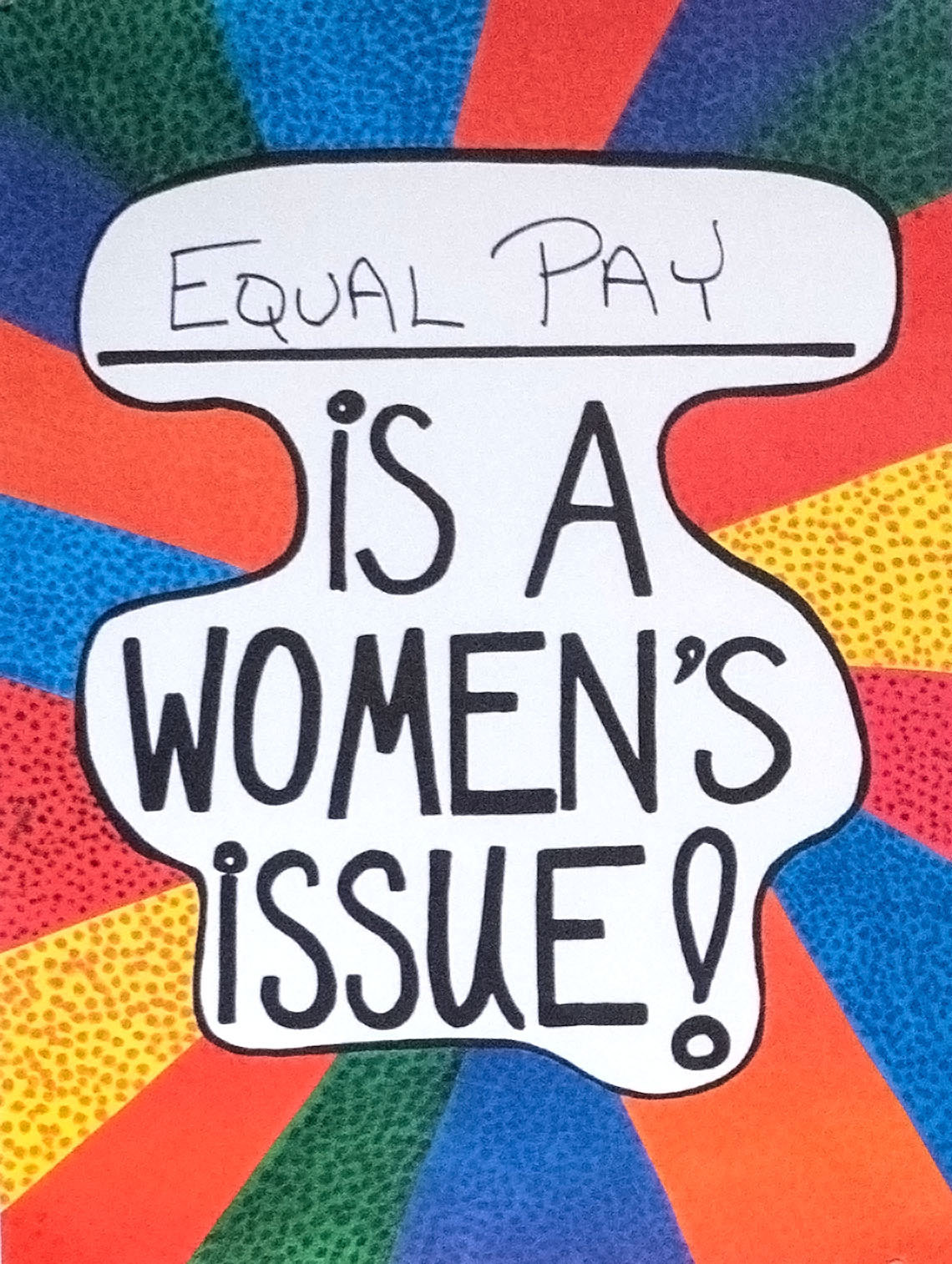 Equal Pay Is a Women's Issue!