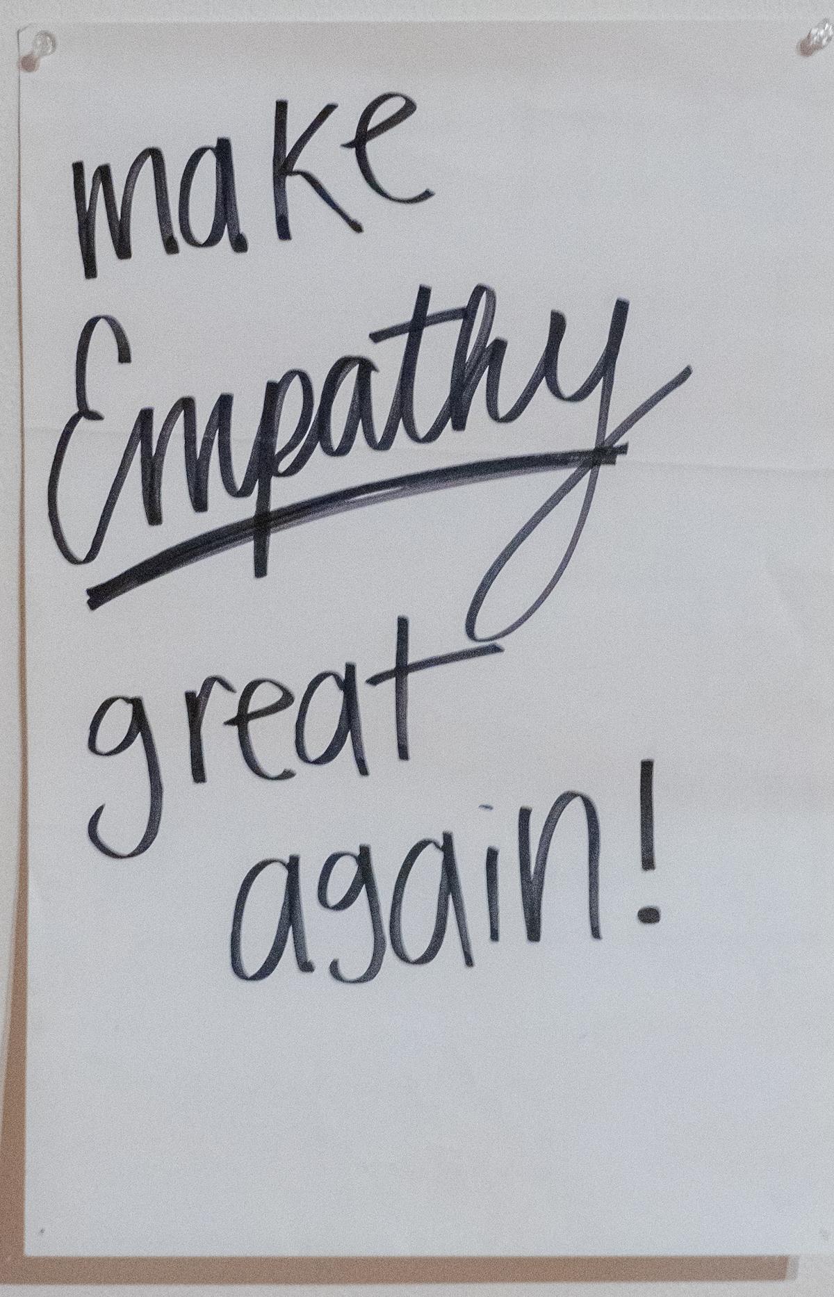 Make Empathy Great Again!
