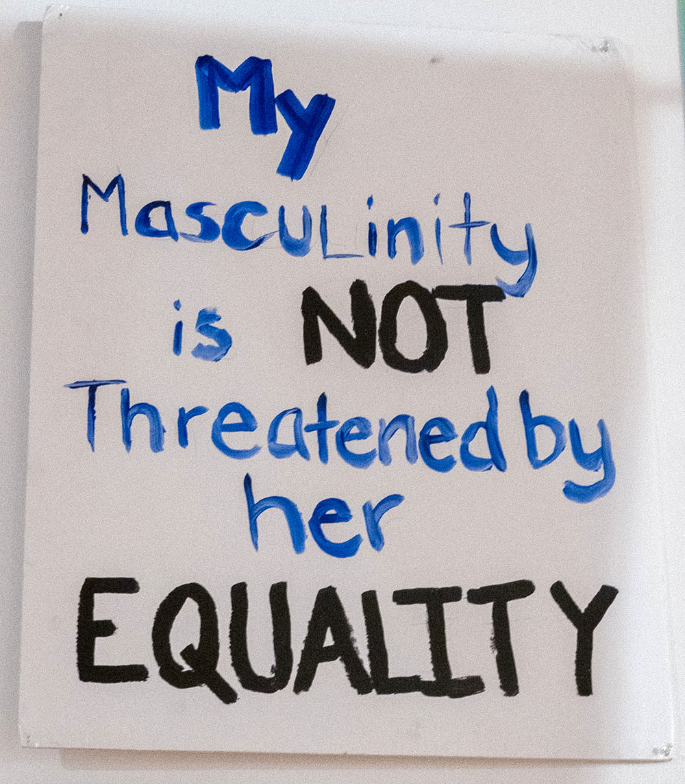 My Masculinity is NOT Threatened by Her EQUALITY