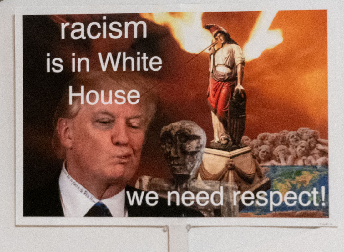 Racism is in White House