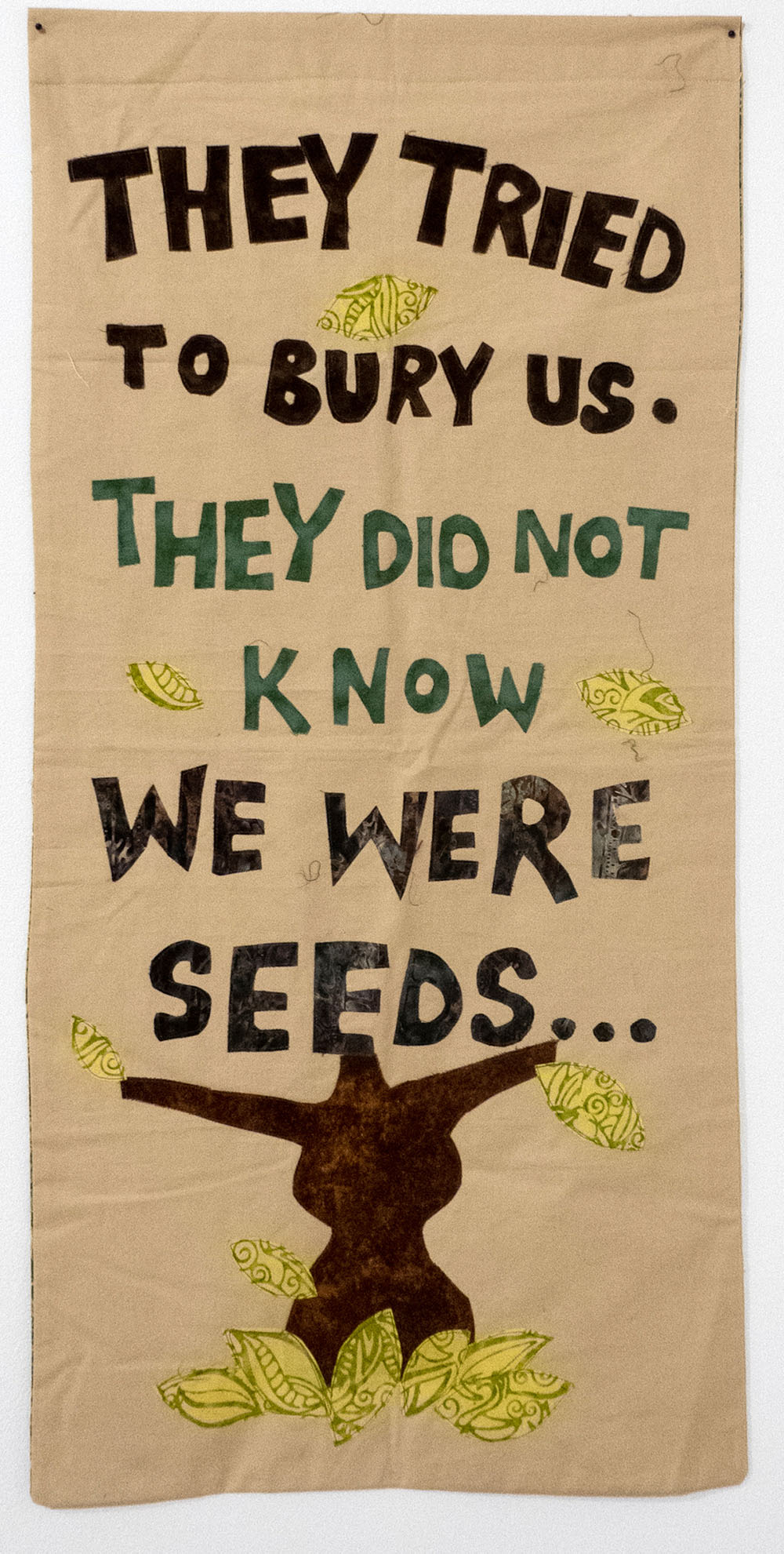 They Tried to Bury Us.  They Did Not Know We Were Seeds?