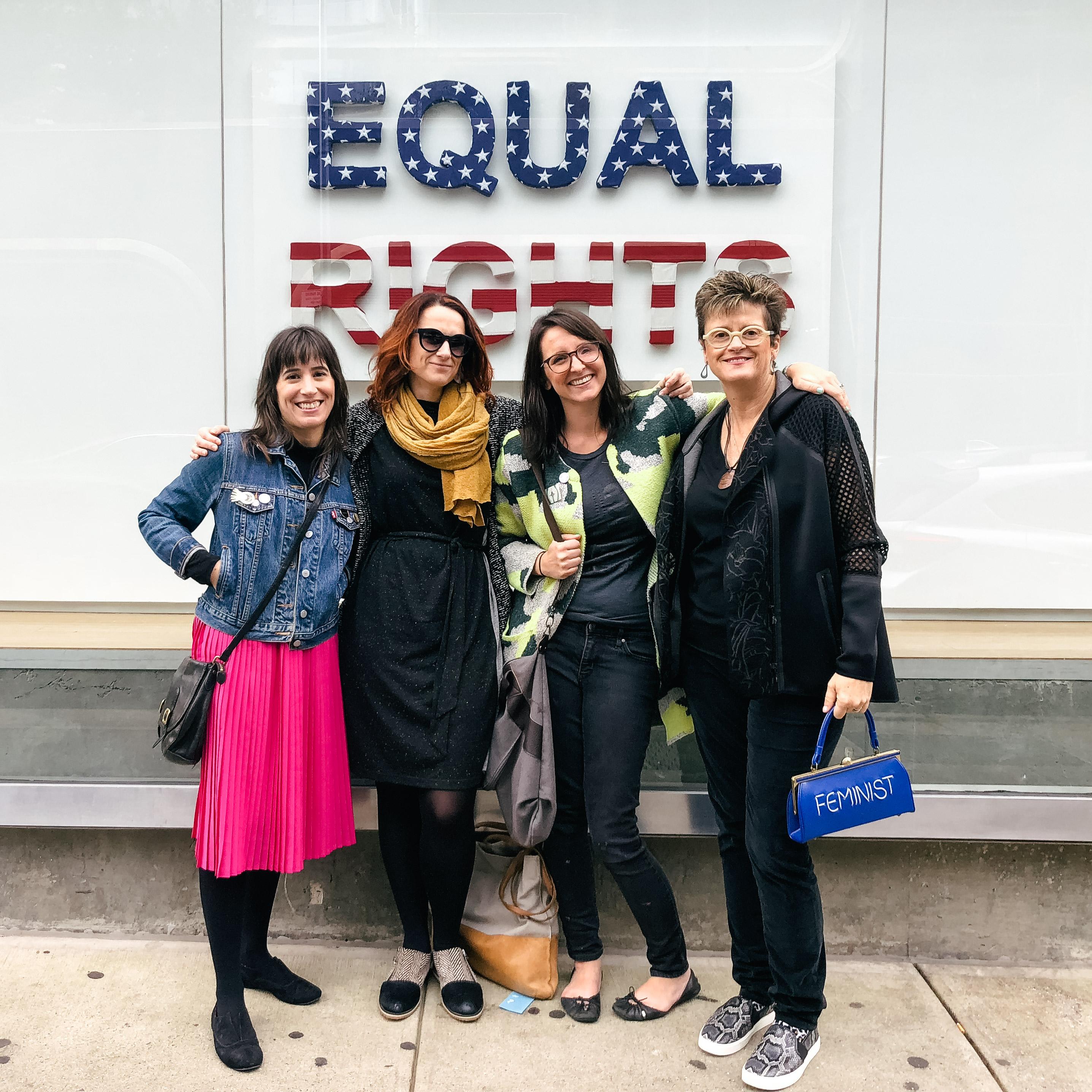 The Fem Four in New York City