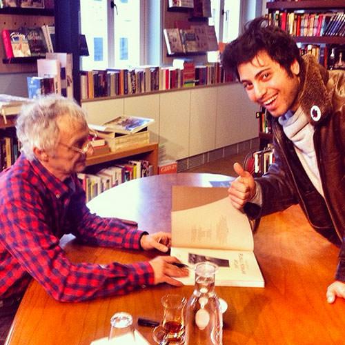 Super Yazarla Tanıştım