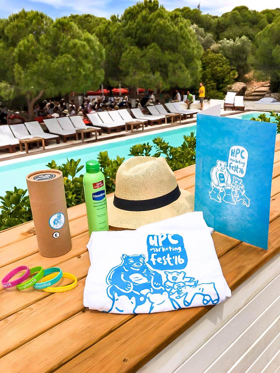 Unilever'in HPC Marketing Festivali için yapılan serigrafi baskılardan.