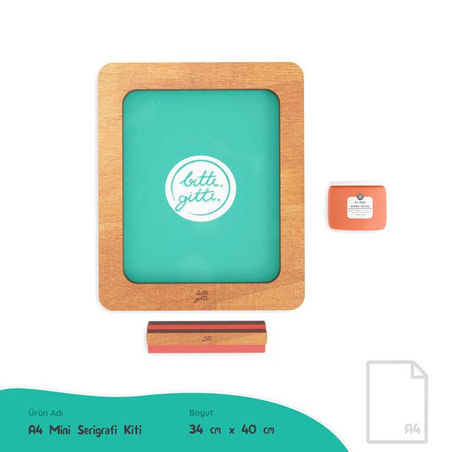 A4 Mini Serigrafi Kiti