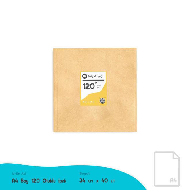 A4 Boy 120 Oluk Serigrafi İpeği