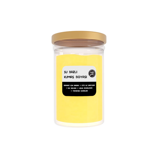 Sarı Kumaş Boyası