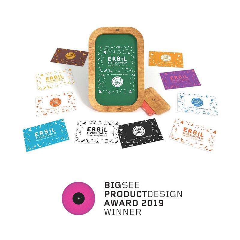 Ahşap Serigrafi Kiti 2019 Big See Ürün Tasarım Ödülü'nü kazandı!