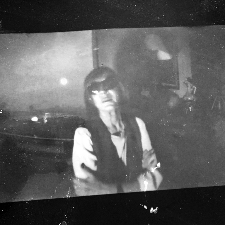 Kitaplığımda Portre Fotoğrafı