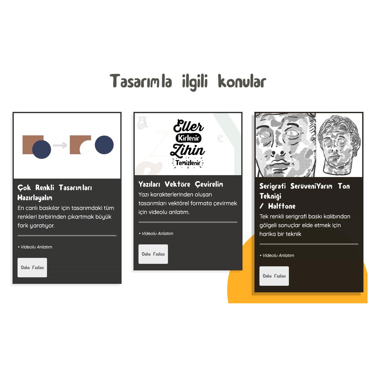 serigrafi baskıya uygun tasarımlar
