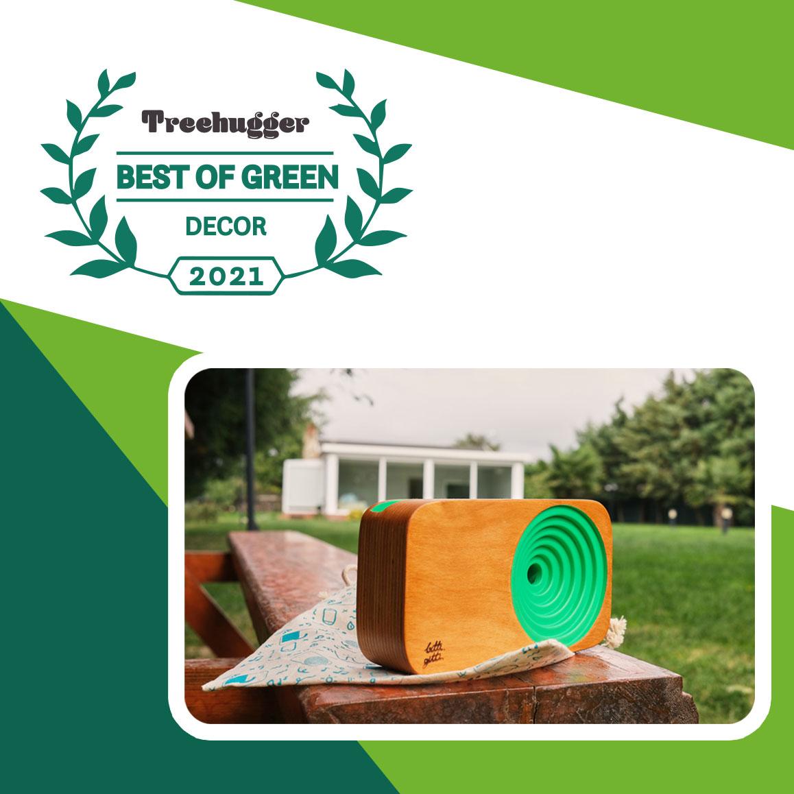 Ahşap Ses Sistemi Best of Green Awards 2021 'i kazandı.