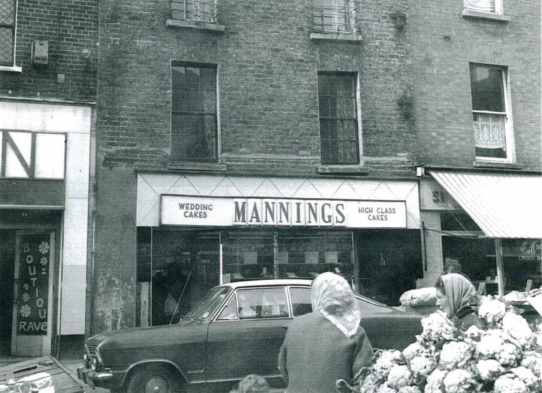 Mannings bakery on moore street