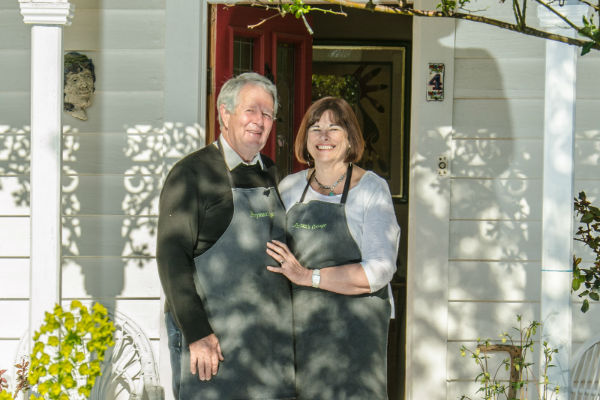 Your hosts at Ferrymans Cottage B&B, Wanaka