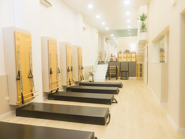Wall Units o SprinWalls y otras máquinas de Pilates en Fisio i Moviment