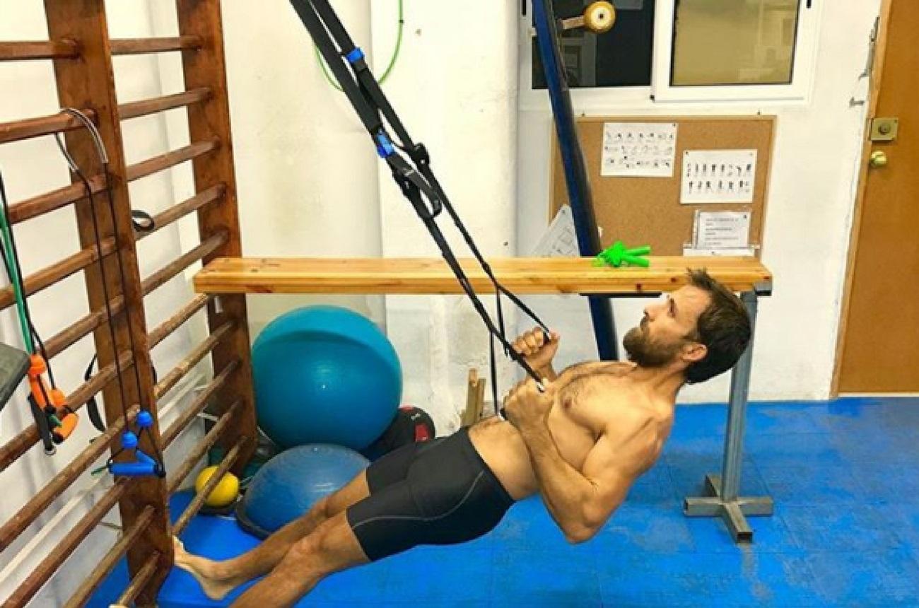 Entrenar con TRX Entrenamiento funcional Fisio & Moviment Pilates Barcelona