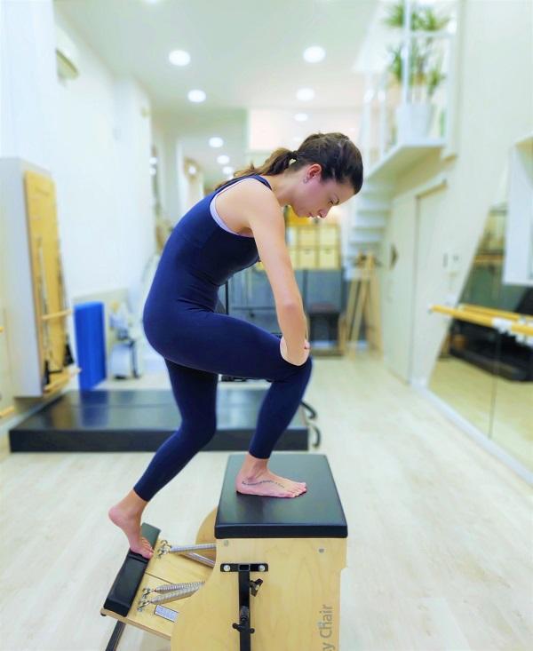 Beatriz es instructora de Fisiomoviment con una gran experiencia en Pilates rehabilitación y Pilates Deportivo