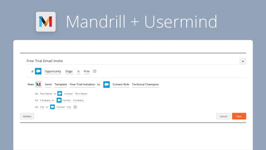 Mandrill + Usermind: How to Trigger Transactional Emails, Without Coding