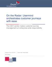 "Ovum ""On the Radar"" Report"