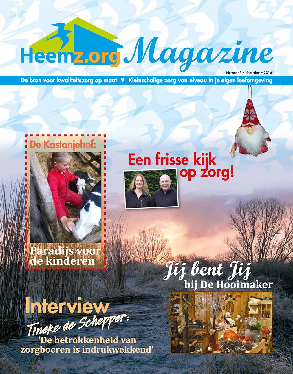 Heemz.org Magazine nr. 3  van 2016 nu digitaal te downloaden