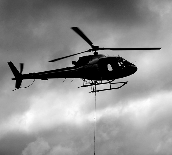 Helicopter Lift & Utility Work
