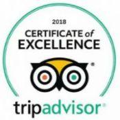 TripAdvisor Cert. of Excellence