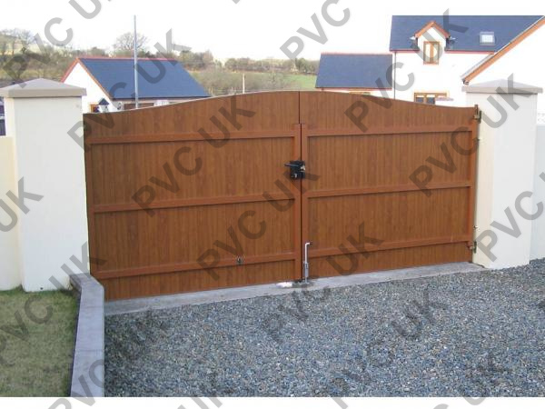 Brown PVC Gate