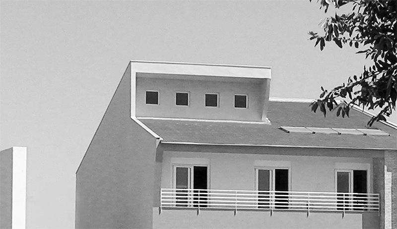 Vista dos fundos de casa no condomínio Alphaville.