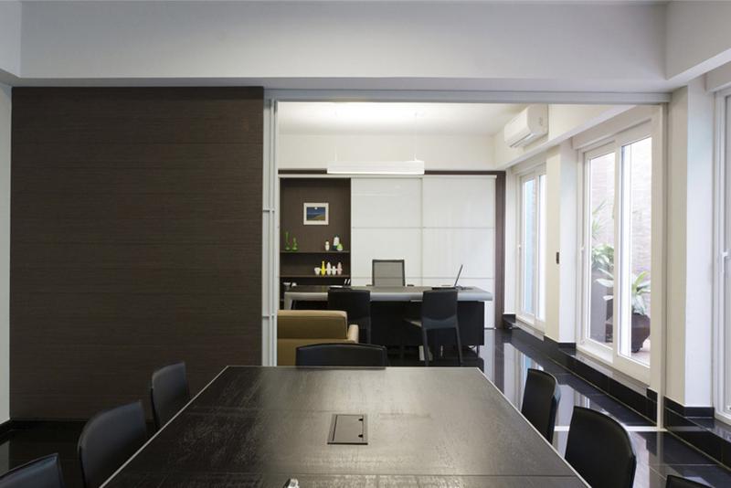 Sala de reuniões de escritório de advocacia