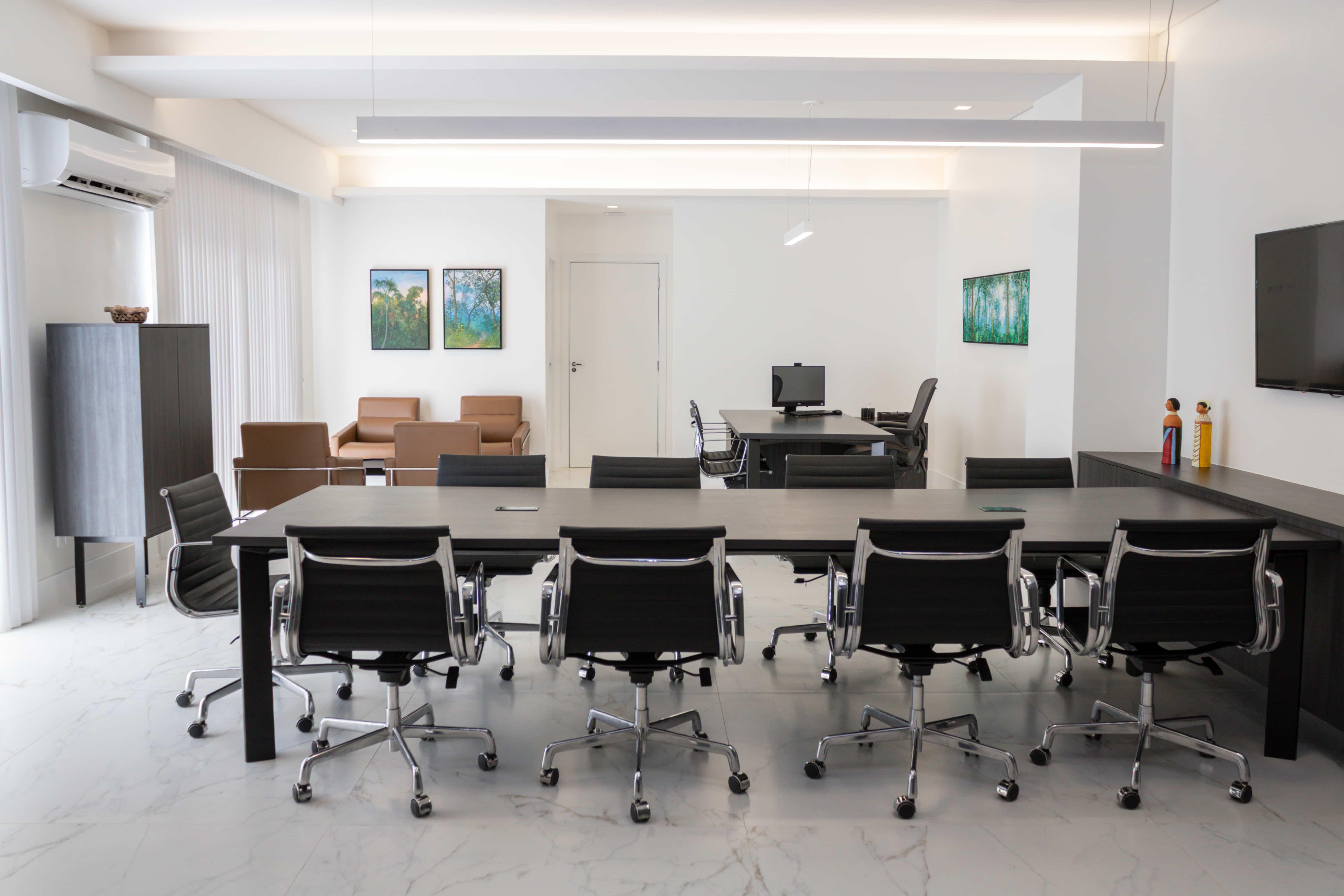 Sala da Presidência da Fecomércio - MT.