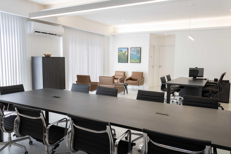 Sala da Presidência da Fecomércio-MT.