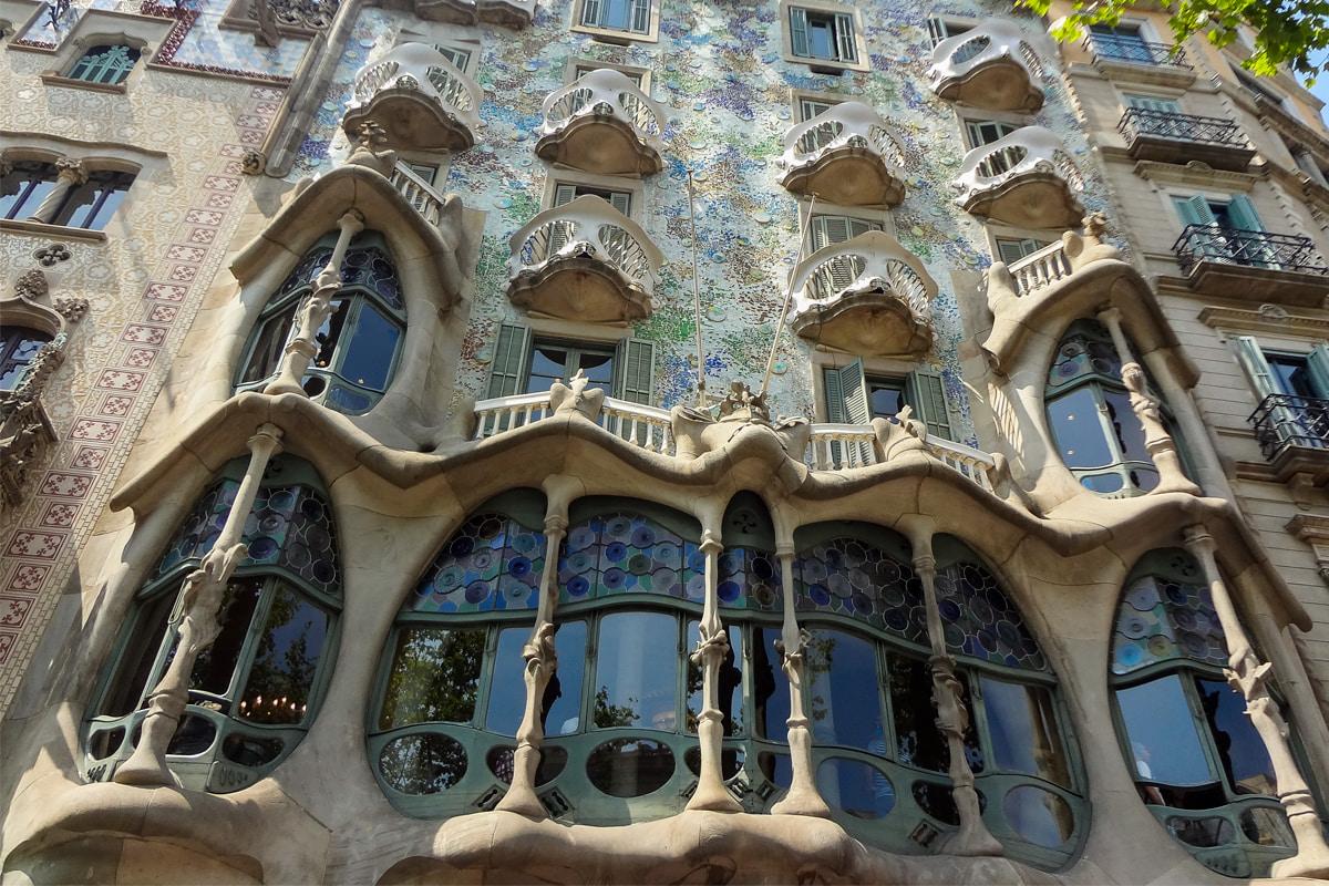 Fachada da Casa Batlló - Gaudí