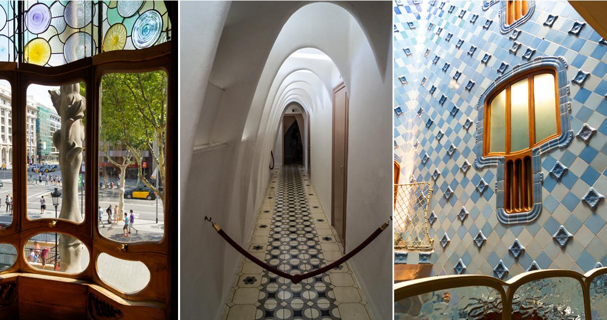Interior da Casa Batlló - Gaudí