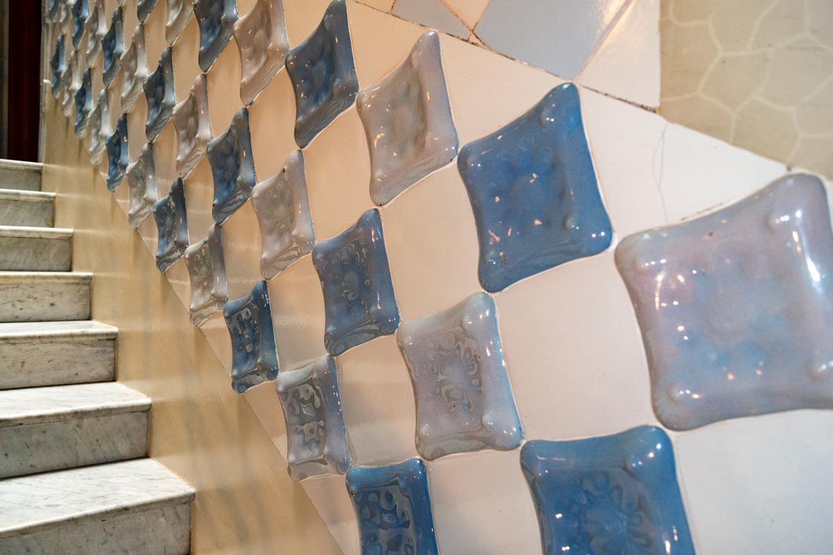 Cerâmica da Casa Batlló - Gaudí
