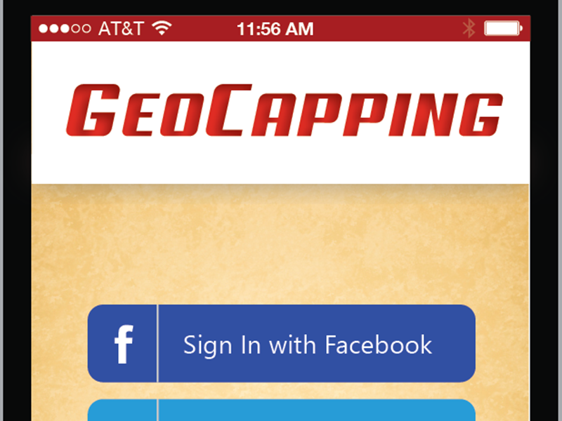 GeoCapping Phone App