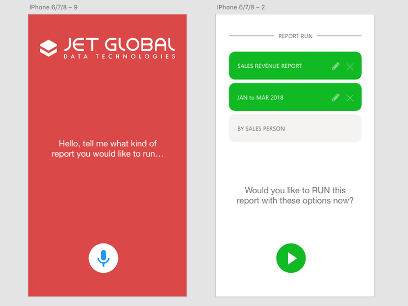 Jet Global Voice Reporting Concept
