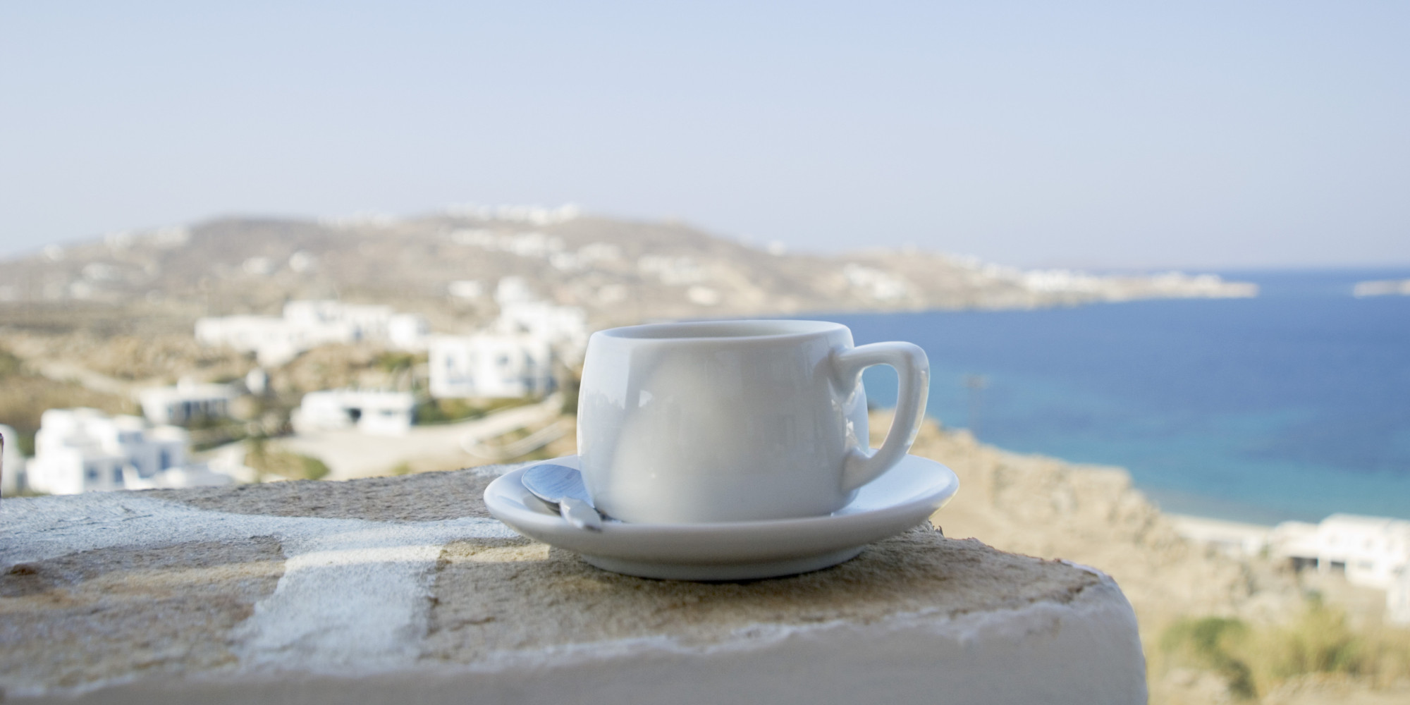 Start your day with a cup of Greek coffee