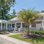 Front of intracoastal house