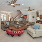 spacious intracoastal living area