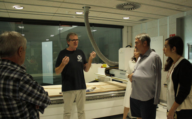 taller ESADE Fabricación Digital