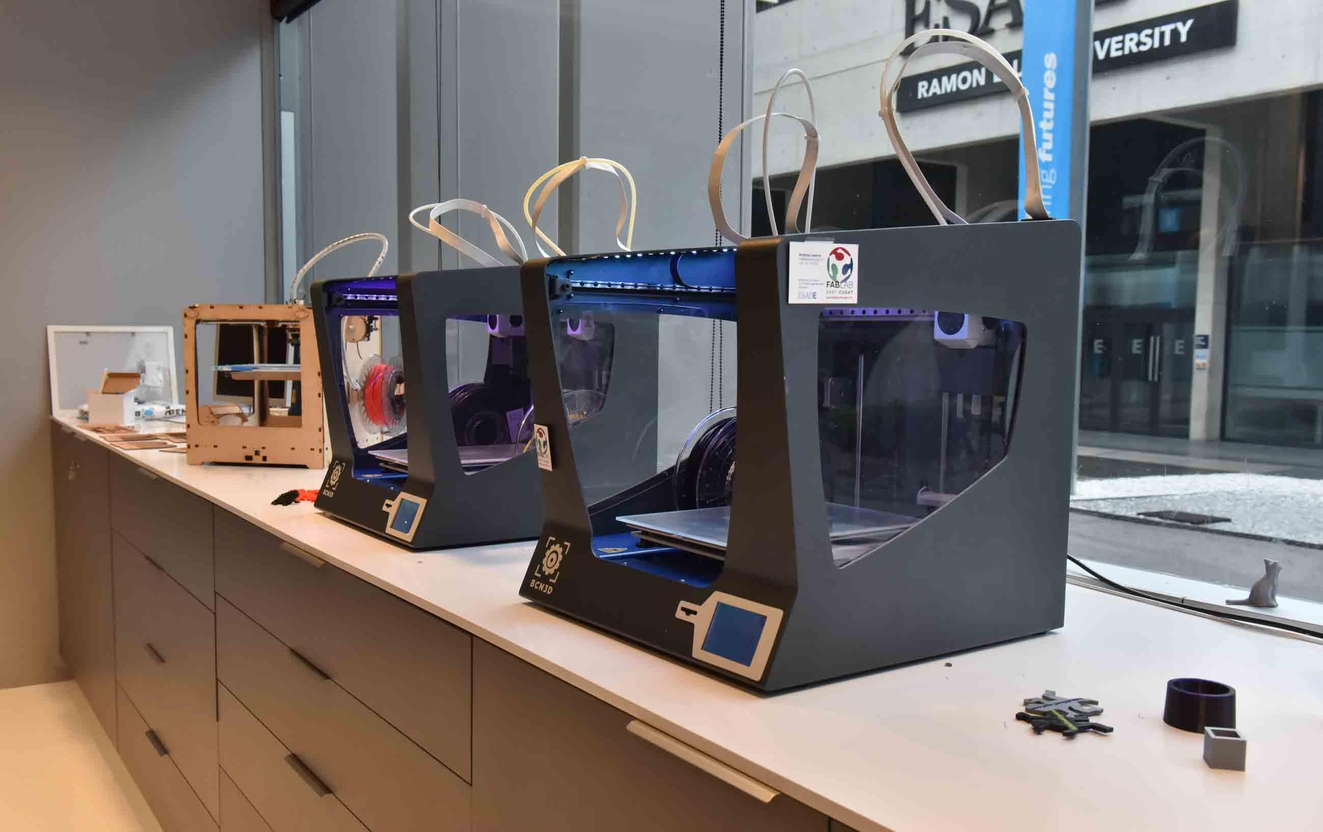 Impresoras 3D en FabLab Sant Cugat