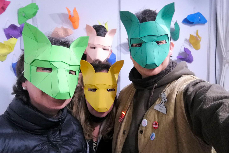 Máscaras Carnaval FabLab Sant Cugat