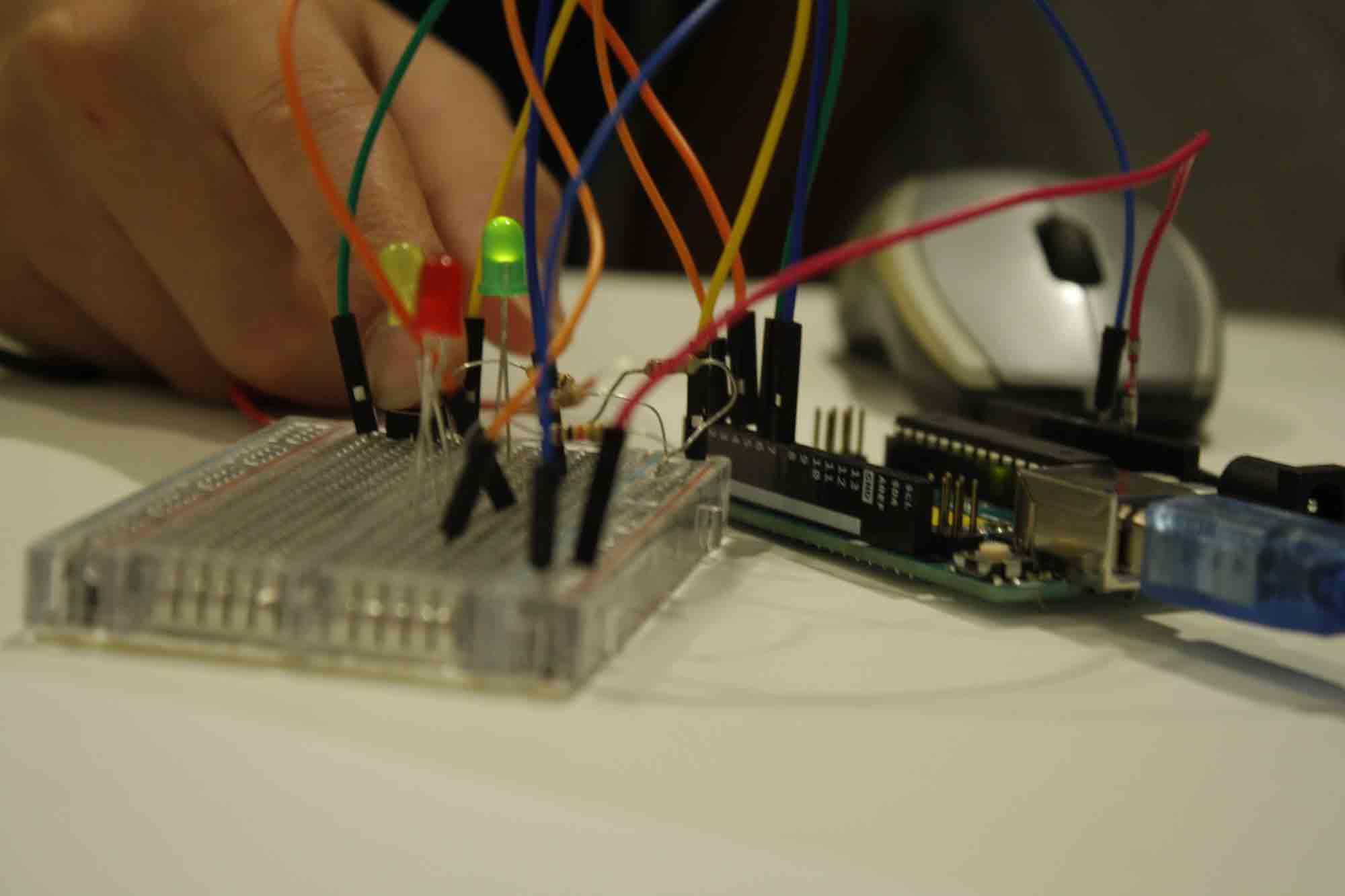 Arduino en FabLab Sant Cugat